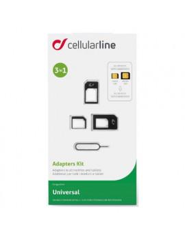 Adattatori sim Adapters Kit - Universal Cellular Line