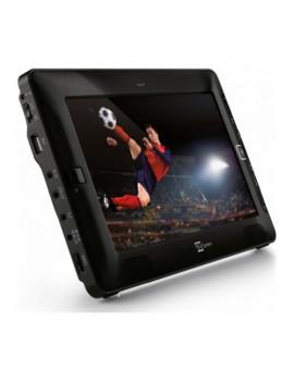 """Televisore TV LCD portatile 9"""" con funzione Mediaplayer Telesystem"""