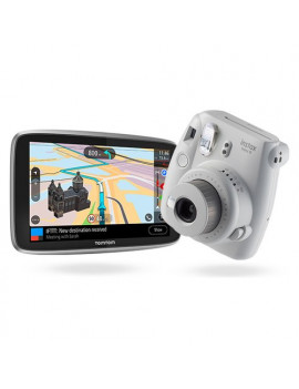 "Navigatore GPS Essential 6"" + instax mini 9 Tomtom"
