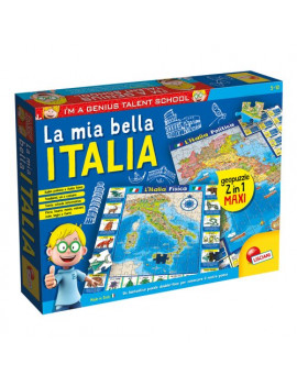 Educativo Geopuzzle Bella Italia Lisciani