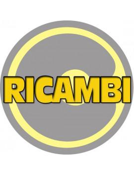 1 X RUOTA RICAMBIO PER CARRELLO ART.3124