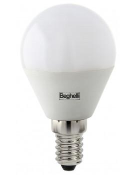 10 X BEGHELLI LED 56819 SFERA E14W5 FREDDA 6500K * BEGHELLI