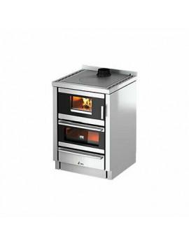 Cucina legna KOOK 60 4.0 ventilata con luce Cadel