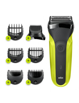 Rasoio barba elettrico Shave&Style 300BT Braun