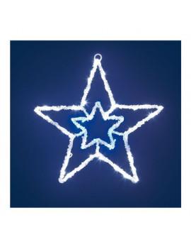 Decoro luminoso Stella effetto ghiaccio led Lotti