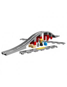 Costruzioni Ponte e Binari Ferroviari Lego