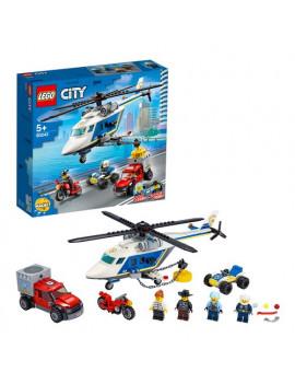 Costruzioni Inseguimento sull'Elicottero Lego
