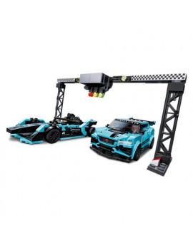 Costruzioni Formula E Panasonic Jaguar Racing Lego