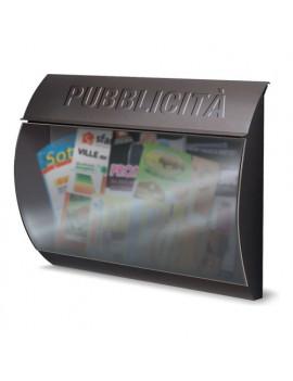 Cassetta pubblicità  Alubox