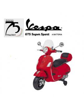 Moto elettrica Vespa Gts Super Sport 12v Globo