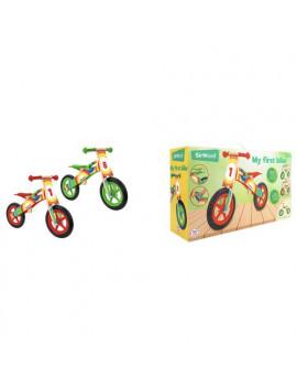 Primipassi Bicicletta in legno Globo