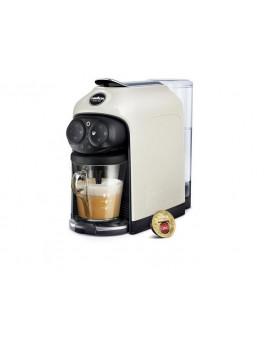 LAVAZZA DESEA WHITE CREAM MACCHINA CAFFè CAPSULE A MODO MIO 1500 WATT 1.1LT