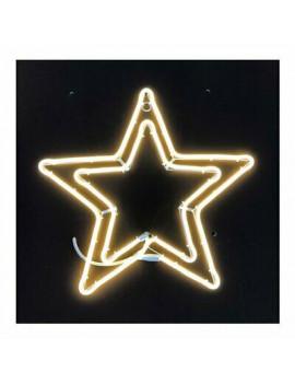 Decoro luminoso Stella doppia neon bifacciale led Lotti