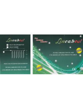 1 X TENDA 160 LED BIANCO + FLASH X ESTERNO